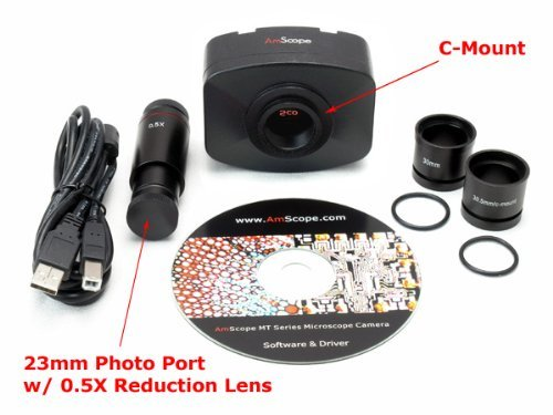 AmScope 10MP USB2 Digital Camera for Microscope + Software by AmScope (Image #1)