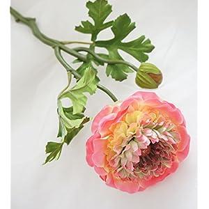 Lily Garden 6 Stems Silk Ranunculus Artificial Flowers 2