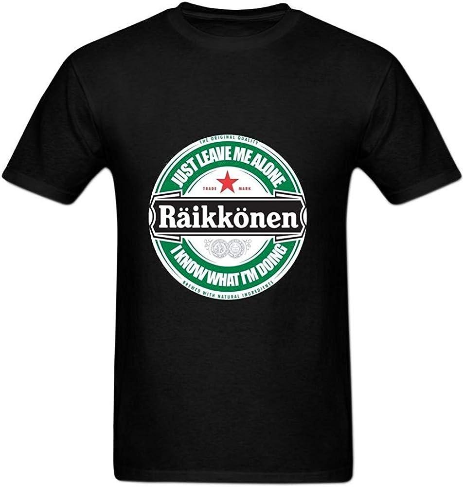 Hauts HYS-Kj Kimi Raikkonen Leave Me Alone Circular Logo Poster ...