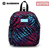 Generic orange : Suissewin New Arrival-Fashionable Children Bag swissgear wenger Backpack For Children Aged 1-7 With Anti-Lost Band Printing