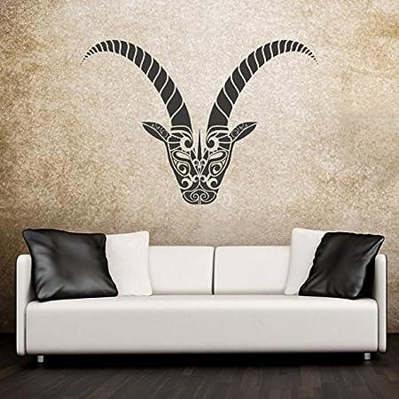 Adhesivo de signo del zodiaco de piedra de decoración de la pared ...
