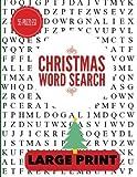 Christmas Word Search Large Print: Christmas Word Find, Christmas Puzzles, Large Print Word Search, Large Print Word Find