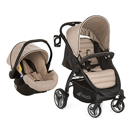 Hauck Lift-Up Four and Travel System - Sand