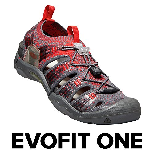 US Water Red Men's EVOFIT Sandal 8 Outdoor ONE Adventures KEEN Magnet for M Fiery CRqOvvn