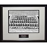 NCAA Notre Dame Fighting Irish 1946 National Championship Team Portrait Framed Igned 16x20 Photo