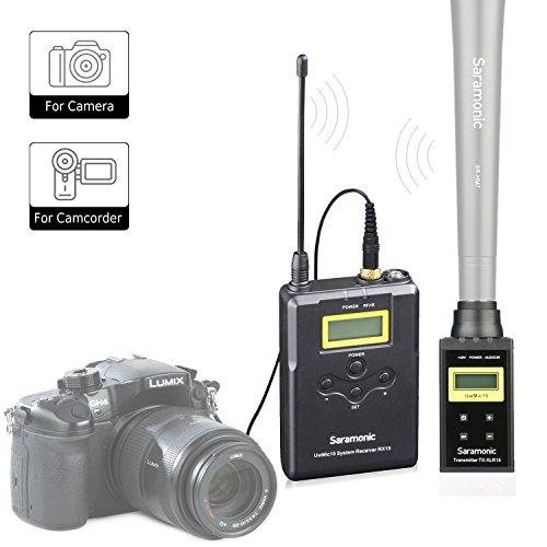 UwMic15B UHF Wireless XLR Plug-On Transmitter System (UwMic15B) (Wireless Uhf Xlr Plug)