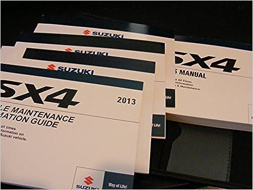 Suzuki SX4 Owners Manual: Suzuki Motor Co : Amazon com: Books