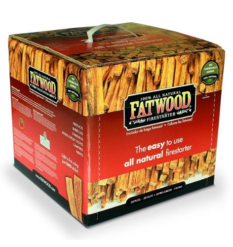 Wood Products 9910 Fatwood Box 10 Pounds