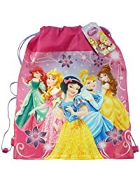 "Princess Drawstring Sling Bag, Size 14"" X 11"""