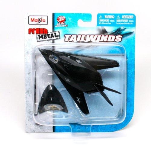 "Maisto Tailwinds ""f-117 Nighthawk"" Die Cast Meatl W/stand..."