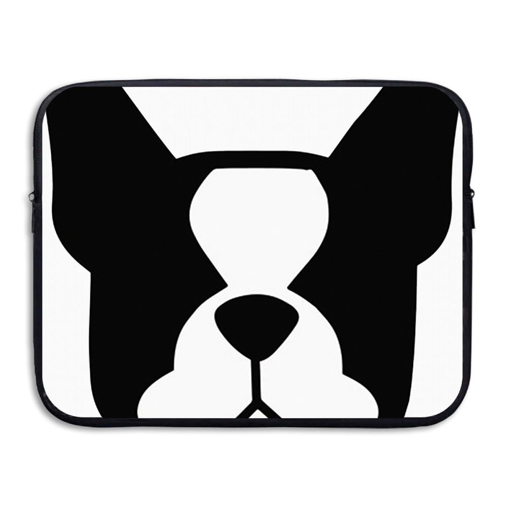 Summer Moon Fire Laptop Sleeve Bag Boston Terrier Cover Computer Liner Package Protective Case Waterproof Computer Portable Bags
