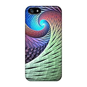 Premium Colorful Abstract Swirls Skin For SamSung Galaxy S4 Phone Case Cover