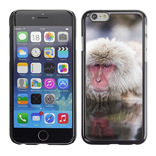 "Premio Sottile Slim Cassa Custodia Case Cover Shell // V00003478 macaques japonais nagano japan // Apple iPhone 6 6S 6G 4.7"""