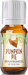 Pumpkin Pie Scented Oil by Good Essential (Premium Grade Fragrance Oil) - Perfect for Aromatherapy, Soaps, Candles, Slime, Lotions, and More!