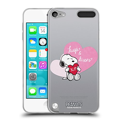 (Official Peanuts Snoopy Hugs and Kisses Sealed with A Kiss Soft Gel Case for Apple iPod Touch 5G 5th Gen)