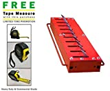 Guardian Cobra 11600.100 Flush Mount/in-Ground 6' Traffic Spike System & Includes A Free Heavy Duty FAS Tape Measure (Part# FAS-TMPROMO18)