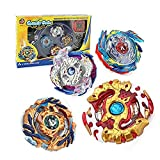 HTKF-US Beyblade Burst Battling Top Blade Burst 4D Set with Launcher and Arena
