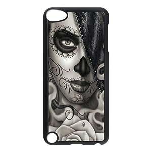 HOPPYS Sugar Skull Phone Case For Ipod Touch 5 [Pattern-5]