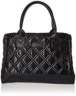 Sachi Fashion Insulated Lunch Bag, Black Quilted (B0009IQ1RY) | Amazon price tracker / tracking, Amazon price history charts, Amazon price watches, Amazon price drop alerts
