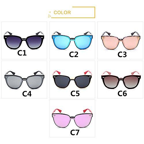 Gafas de Flores Peggy Viajar Marco al Sol de C5 Color Ojos Conducción Gato Gu Color Mujer C4 de para Libre UV Lente Protección de Aire tw7qf1tWOr