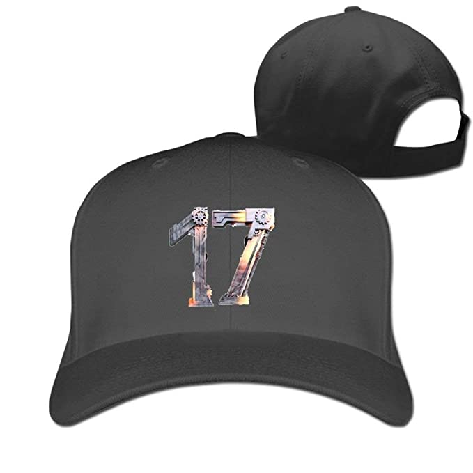 2f9309f9960 Image Unavailable. Image not available for. Color  Baseball Caps Gear Ball-Game  Star No.17 Golf Dad Hat Adults Vintage Snapbacks