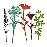 Sizzix 664164 Wildflower Stems #2 Dies One Size Multicolor