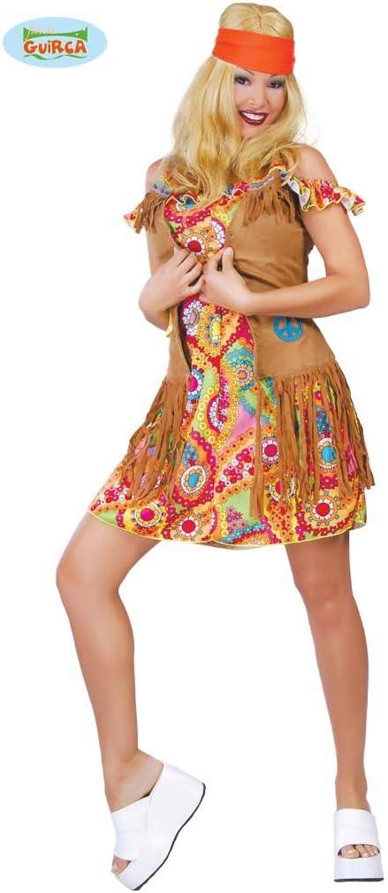 Disfraz de mujer hippie: Amazon.es: Juguetes y juegos