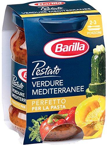27 opinioni per Barilla- Pestato Verdure Mediterranee, Perfetto per la Pasta- 4 pezzi da 175 g