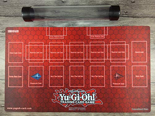(YuGiOh Master Rule 4 Link Zone Playmat Custom Trading Card Game Mat Free Tube)