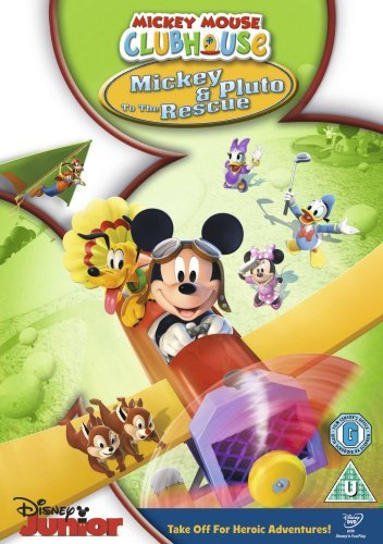 Mickey Mouse Clubhouse - Mickey & Pluto [DVD] B01I06WH2E