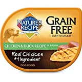 Nature's Recipe Wet Dog Food Easy to Digest Grain-Free Chicken & Duck Recipe In Broth, 2.75-Ounce Cup (Pack of 24) Review