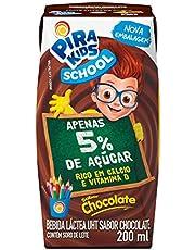 Bebida Láctea Sabor Chocolate Pirakids School 200ml