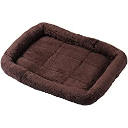 Pets Doggy Bed Cashmere Mat Anti-slip Pad Cotton Cat Kennel Warm Home House, Gift New Coffee Warm Pet Dog Cat Bed House