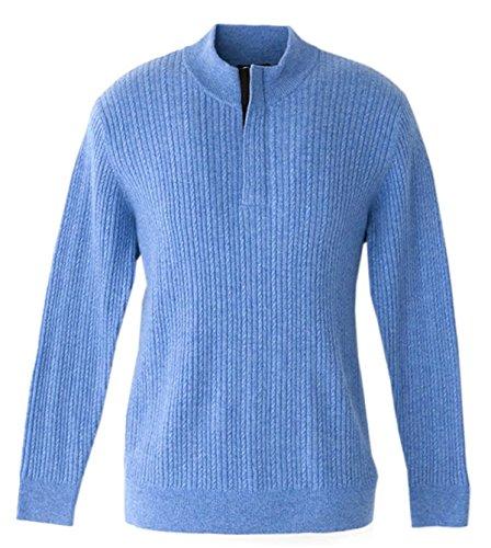 Quarter Zip Cashmere Sweater - 8