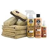 Automotive : Chemical Guys HOL303 Leather Cleaner and Conditioner Care Kit, 4. Fluid_Ounces