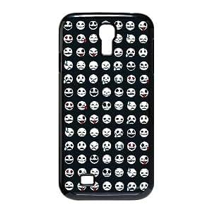 HQYDIY Custom emoticons funny Plastic Case, DIY emoticons funny Hard Cell Phone Case for samsung galaxy s4 I9500
