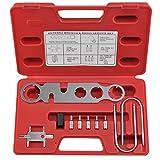 Neiko 20715A Antenna Nut Wrench and Radio Service Kit, 9 Piece Set