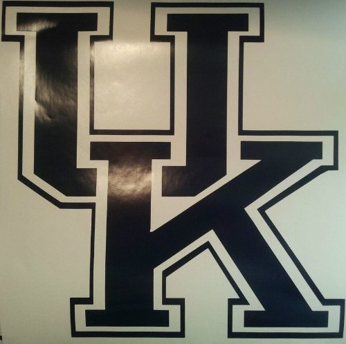University of Kentucky Cornhole Decals - 2 Cornhole Decals by The Cornhole King