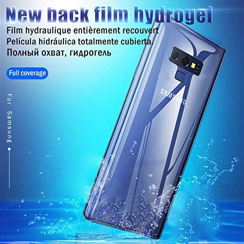 JIN Screen Protector 25 PCS Soft Hydrogel Film Full Cover Back Protector with Alcohol Cotton Scratch Card for iPhone XR Used for Your Phone