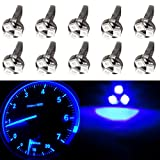 97 honda civic center console - CCIYU T5 37 73 74 Wedge 3-SMD Speedometer Instrument Gauge Cluster LED Light Bulb,10 Pack