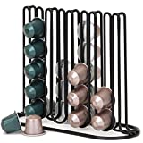 Slim and Sleek Coffee Pod Holder and Organizer for 40 Coffee Pods for Nespresso and Creamer Pods