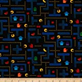 Timeless Treasures Video Game Black Fabric By The Yard