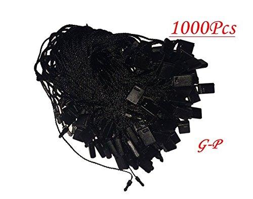 7-1000-pcs-black-hang-tag-nylon-string-snap-lock-pin-loop-fastener-hook-ties