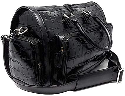 a3011c18b34d Carry-On Travel Duffle Bag Flight Sports Gym Overnight Weekender Shoulder  Handbag for Men and