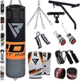 RDX Punching Bag Set (Bag, Gloves, Accessories, Jumping Rope, Wraps)