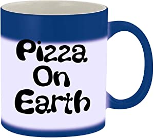 Pizza On Earth - 11oz Magic Color Changing Mug, Blue