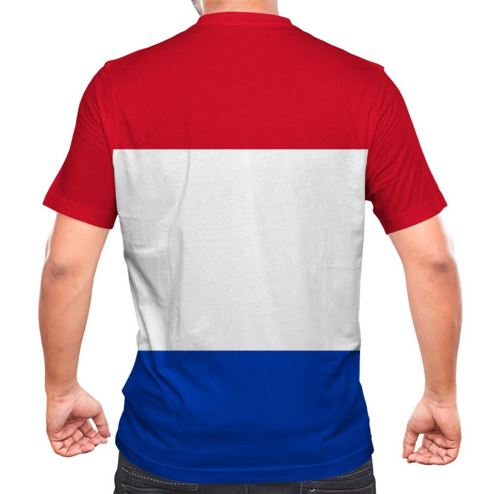 Idakoos Paraguay - 3D Hombres Camiseta Poliéster Novedad M ...