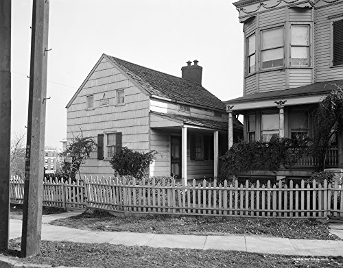 New York Poe Cottage Nthe Cottage In The Bronx New York Where Edgar Allan Poe Lived With His Wife Virginia Clemm And Her Mother Maria From 1846 To 1849 Photograph C1915 Poster Print by (18 x 24)