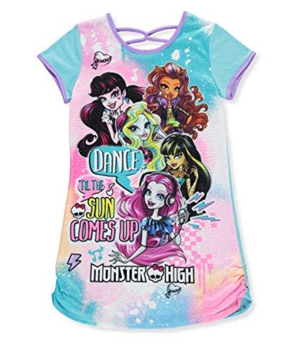 Character Sleepwear Girls Monster High Nightgown, S,
