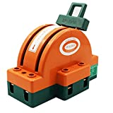 Knife Switch Dual power Copper Power Disconnector Switch Semicircular switch, Kaifa (2P 100A)